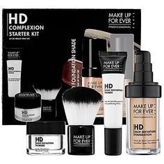 MAKE UP FOR EVER HD Complexion Starter Kit 140 Soft Beige 1 kit -- Continue to the product at the image link.
