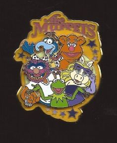 The Muppets Disney Trading Pins, Disney Pins, Disney Stuff, Disney Pin Collections, Classic Cartoons, Cute Pins, Duffy, Disneybound, Tinkerbell