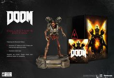 DOOM COLLECTORS EDITION - PS4 - BRAND NEW
