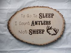 Burned Wood Plaque by HLCustoms on Etsy, $55.00