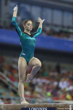 Aliya Mustafina, 2014