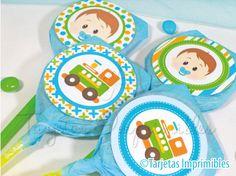 Recién salido del horno!! Les presento el NUEVO KIT IMPRIMIBLE BABY BOY, para bebés y niños pequeñitos… Seguro les va a encantar!!