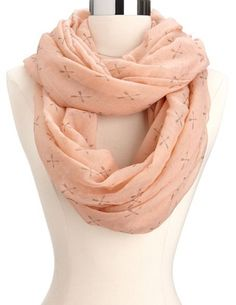 Crossed Arrows Infinity Scarf: Charlotte Russe