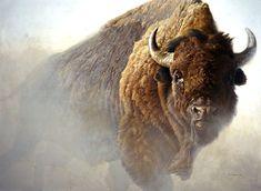 bateman artist | Robert Bateman Paintings, Art Painting, Wild Animals Paintings, chief ... In person in Jackson Hole :)
