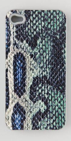Rebecca Minkoff    Two Tone Python iPhone Case