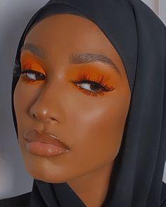 Makeup Eye Looks, Cute Makeup, Pretty Makeup, Simple Makeup, Beauty Makeup, Amazing Makeup, Brown Skin Makeup, Dark Makeup, Black Girl Makeup