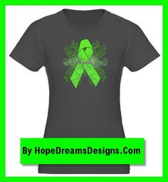 Beautiful flourish Hope Faith Cure Lymphoma Awareness Ribbon shirts, apparel and gifts by hopedreamsdesigns.com