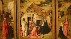 Hieronymus Bosch (1450-1516) -  Adoration of the Magi