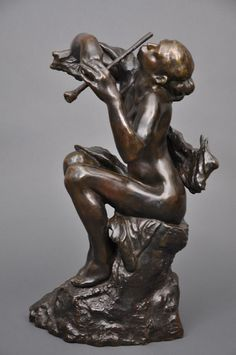 Camille Claudel, La Sirène ou La Joueuse de flûte, 1900-1905