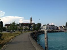 Romanshorn, Switzerland, early August 2015