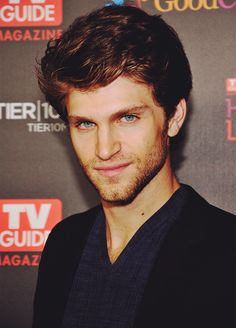 Keegan Allen...I am perfectly fine with you keeping that beard!