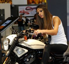 Lets keep it rolling with a Dirty motorcycle girls Friday (76 HQ Photos)