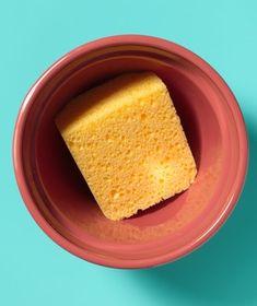 Use a sponge in bottom of pot as a soil saver.