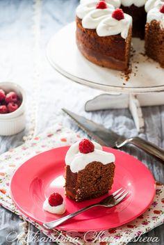 Chocolate and lemon raspberry cake... :) www.favoledicioccolato.blogspot.com