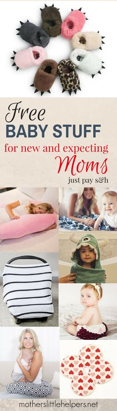 FREE BABY STUFF - Here's how to get free baby stuff for new and expecting moms - baby gear you'd most likely have on your baby registry or get as a baby shower gift anyway.  Give yourself a financial break and use these free baby coupons grab your baby freebies today!  #babyfreebies #babystuff #freebies #babygear