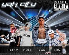 Taylor Hall, Ryan Nugent-Hopkins, Nail Yakupov, and Jordan Eberle in YAK CITY