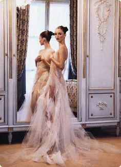 Audrey Marnay by Arthur Elgort for Vogue US