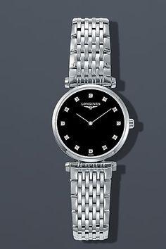 c04e0c2f16e Longines La Grande Classique Mini Diamond Watch