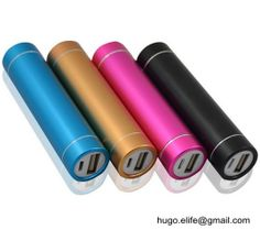 Aluminium Power Bank hugo.elife gmail.com Portable Battery 53aab1598a5a