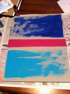 Swipe painting