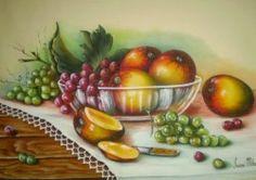 pintura de frutas