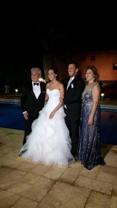 Che dire.....bellissimi!!! Auguri ragazzi !!!!  www.tosettisposa.it #abitidasposa2016 #wedding #weddingdress