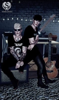 Nirvana, Ramones, Yeezus BAND TEES by Simslandia - Sims 3 Downloads CC Caboodle