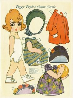 Peggy Pryde's COUSIN CARRIE from Pictorial Review, March 1926