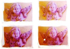 ther are angels everywherecollage by ChiarandCo on Etsy, $8.00