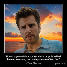 Shawn Spencer, Psych, Comedy, Movie Posters, Movies, Instagram, Funny, Films, Film Poster