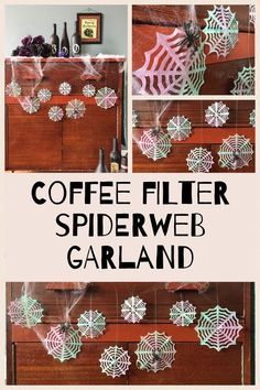 Coffee Filter Spider