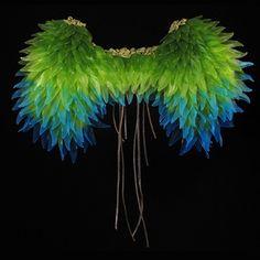 Glass Fallen Angel Wings. By Tanya Lyons @ Pismo Fine Art Glass