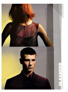 Campaign: Jil Sander Season: Spring 1999 Photographer: David Sims Model(s): Malgosia Bela