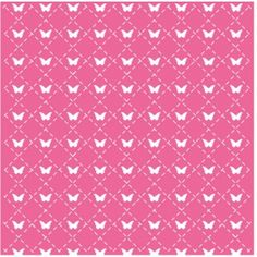 Silhouette Design Store: butterfly stitched lattice page mat