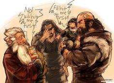 the hobbit fili kili dwalin balin not my art Thorin Durin family Uncle Thorin I love these brothers Le Hobbit Thorin, Legolas And Gimli, Hobbit Art, Thranduil, Fili Und Kili, Bagginshield, Thorin Oakenshield, Bilbo Baggins, Into The West