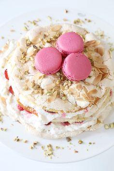 Cake. leipominen Arkisto   Vaaleanpunainen hirsitalo   Idealista
