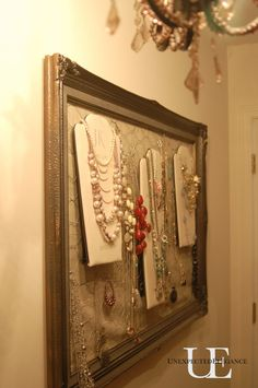 Closet organization!  Unexpected Elegance