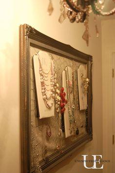 Closet organization!  Unexpected Elegance