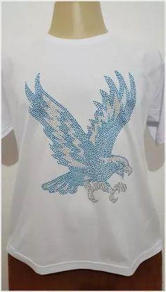 Camisa De Strass - Águia Portela - R$ 59,99