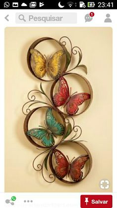 Pure inspiration for quilling-will put pictures inst – Quilled Paper Art Pure inspiration for quilling – will inst / pictures … Quilling Butterfly, Arte Quilling, Quilling Craft, Paper Quilling Designs, Butterfly Crafts, Quilling Patterns, Butterfly Wall, Toilet Paper Roll Art, Rolled Paper Art