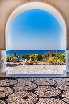 Kalithea Springs Therme Beautiful Arch with Sea View, Rhodes,Gre Watercolor Flowers Tutorial, Greek Beauty, Greek Wedding, Seven Wonders, Greece Travel, Running Away, Dream Vacations, Places Ive Been, Arquitetura