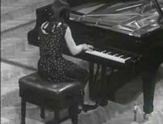 "Martha Argerich playing Chopin's ""Polonaise N°6 l'heroique"" at the International Chopin Piano Competition, 1965."