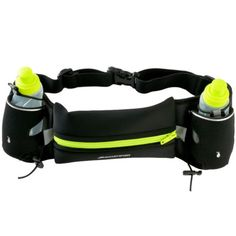 """Hydration Running Belt with 2 BPA Free Water Bottles Runners Waist Pack 6.5"""" - http://sports.goshoppins.com/exercise-fitness-equipment/hydration-running-belt-with-2-bpa-free-water-bottles-runners-waist-pack-6-5/"""
