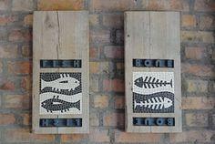 Fishbone Mosaik / Bruno Rodi / www.mosaikhandwerk.de