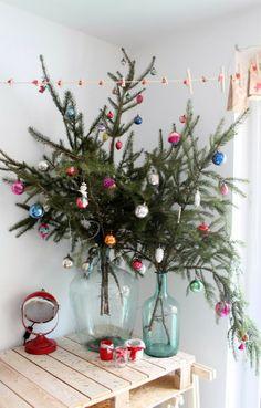 El edén creativo: Árboles de Navidad originales