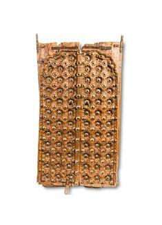 Antique Door with Embossed Pattern - Fama Design Corp. Indian Doors, Wood Doors, Hardwood, Culture, Display, Living Room, Antiques, Pattern, Vintage