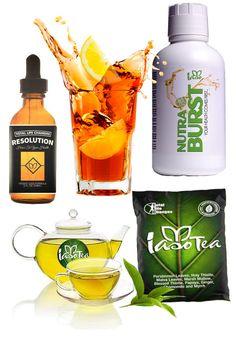 TLC Weight Loss Kit Nutra Burst and 4 Iaso Tea and TLC Resolutions Drop lose 5lb #TLC
