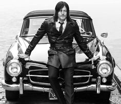 The Walking Dead's Norman Reedus Talks Fitness, His Rabidly Loyal Fan Base, and the Fate of Darryl Dixon