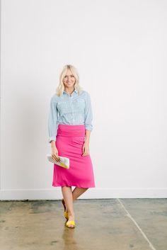 Midi Knit Skirt