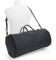 Main Image - Barbour Waxed Canvas Duffel Bag